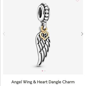Jewelry - Pandora Angel Wing Charm 💜